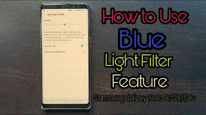 Blue Light Filter Android 7 1 1 How To Use Blue Light Filter Feature In Samsung Galaxy Note 8 With Android 7 1 1