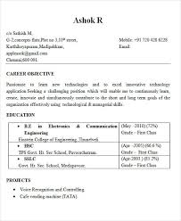 Effective Resume Format Enchanting 48 Best Engineering Resume Templates PDF DOC Free Premium