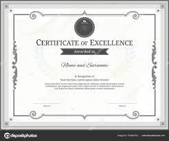 Diplomas Para Editar Plantilla De Certificado De Lujo Con Elegante