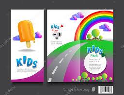 Fun Brochure Templates Kid Brochure Templates Cute Brochure Template Design Kids