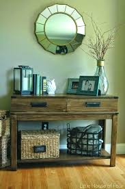 how to decorate a console table. Entrance Table Decor How To Decorate Entryway The Best Console Ideas On Foyer A D