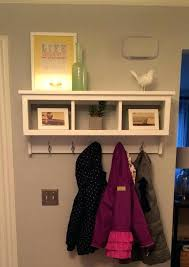wall shelf with baskets and hooks wall shelves with baskets zoom shelf and hooks wall shelf