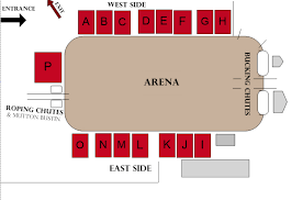 Stampede Rodeo Seating Chart Tickets