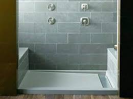 interior architecture entranching kohler shower pan in cast iron bases care cleaning kitchen resources kohler