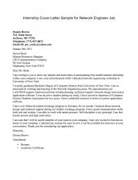 Simple Cover Letter Examples For Students 15 Mesmerizing Sample