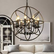 well known metal ball candle chandeliers throughout chandelier view 10 of 10