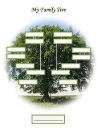 Free Printable Blank Family Tree In Portrait Orientation