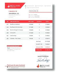 best invoice template best invoice design simple invoice template in ms word invoice best