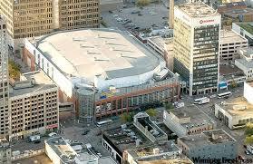Mts Centre Winnipeg Mb Sports Stadiums Sports Stadium