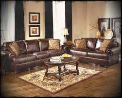 Wooden Living Room Furniture Sets Ashley Living Room Furniture Sets With Classical Leather Sofas And