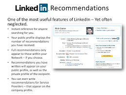 Add Resume To Linkedin LinkedIn RecommendationsOne Of The 58