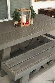 diy patio table. Contemporary Table DIY Outdoor Table With Diy Patio
