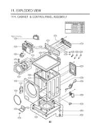 lg washing machine parts diagram lg image wiring parts for lg wm2016cw abweeus washer appliancepartspros com on lg washing machine parts diagram