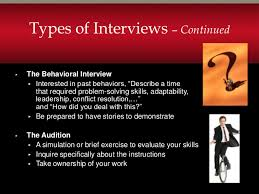 Different Types Of Job Interviews Job Interview Types Under Fontanacountryinn Com