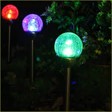 outdoor color changing solar lights set of 20
