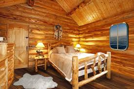 Log cabin interiors designs Rustic Cabin Log Cabin Home Décor Ideas Steel Log Siding 19 Log Cabin Home Décor Ideas