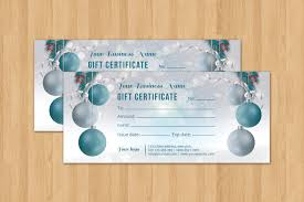 voucher template christmas holiday gift certificate template multipurpose gift voucher photoshop elements template instant