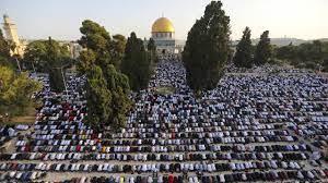 صلاة عيد الأضحى في المسجد الأقصى.. صور