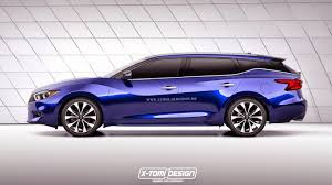 2016 Nissan Maxima Goes Wagon In Another Incursion Into Never-Ever ...