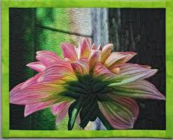 Floral art quilts by Barbara McKie & In my featured artist section of Cutting Edge Art Quilts by Mary Kerr,  Schiffer Publishing, ... Adamdwight.com