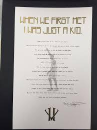 Kobe Bryant's Retirement Letter To Laker Fan Hits Ebay - Sneakernews.com