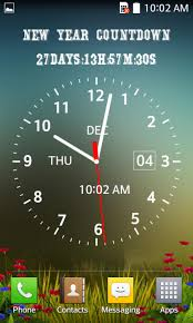 Photo Clock Live Wallpaper Android App ...