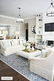 gorgeous new white sofas completely