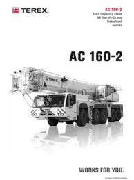 Terex Ac 160 2 Specifications Cranemarket