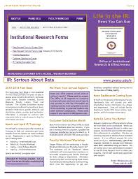 How Do You Feel About Your Present Workload Life In The Ir News You Can Use Office Of Institutional