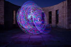 Hula Hoop Light Show
