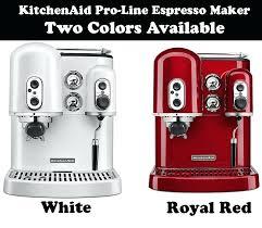 kitchen aid espresso machines pro line series espresso maker kitchenaid espresso machine repair