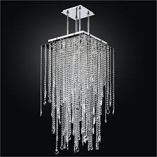 square chandelier crystal drop cityscape 598m