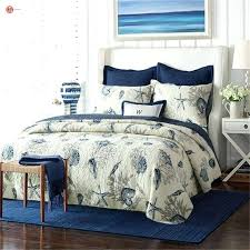 starfish bedding home textile shell set flower bird one pillowcases bedspread patchwork cotton pottery barn sheets