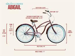 Cruiser Bike Size Chart Sixthreezero Abigail 3 Speed Beach Cruiser Size Chart