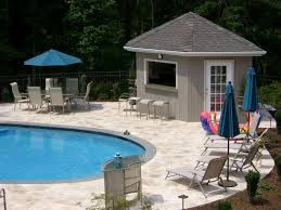 Crazy Tiny Pool House Plans 6 House With Cutaway For Tiki Bar Maybe