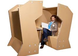 cardboard office furniture. cardboard conference cells office furniture o
