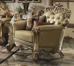 vendome patina gold leather sofa collection vendome patina gold leather chair
