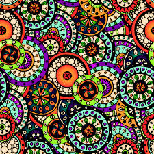 Beautiful Patterns Unique Beautiful Ethnic Style Seamless Patterns Vector Set 48 Free Download