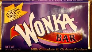 Image result for wonka chocolate bar