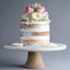 Naked Cake With Fresh Flowers 6 Eat Cake Today Birthday Cake