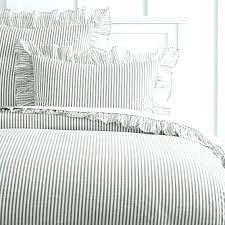 striped duvets duvet cover queen the ruffle stripe sham black and white covers uk striped duvets cotton sateen duvet cover