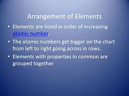 The Periodic Table 6.5A Students will know that an element is a ...