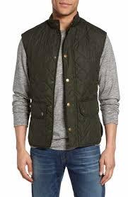 Men's Vests: Denim, Down & Puffer | Nordstrom & Barbour 'Lowerdale' Trim Fit Quilted Vest Adamdwight.com