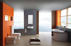 Marvellous Orange Bathrooms Color Bathroom Decoratingdeas Brown ...
