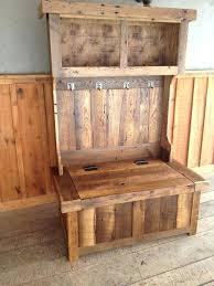 hall tree coat rack with bench cherry entryway wood hall tree coat rack storage bench with