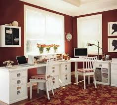 home office color ideas. Burnt Red Home Office Color Ideas