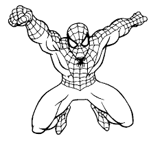 Small Picture Drawn spiderman coloring book Pencil and in color drawn