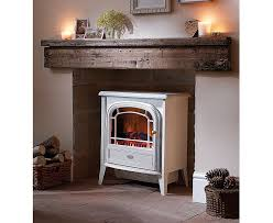 dimplex courchevel electric stove white