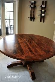 round wood dining table. Reclaimed Wood Round Table Dining