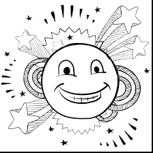 happy face coloring page happy face coloring page smiley pages printable good sad happy face coloring